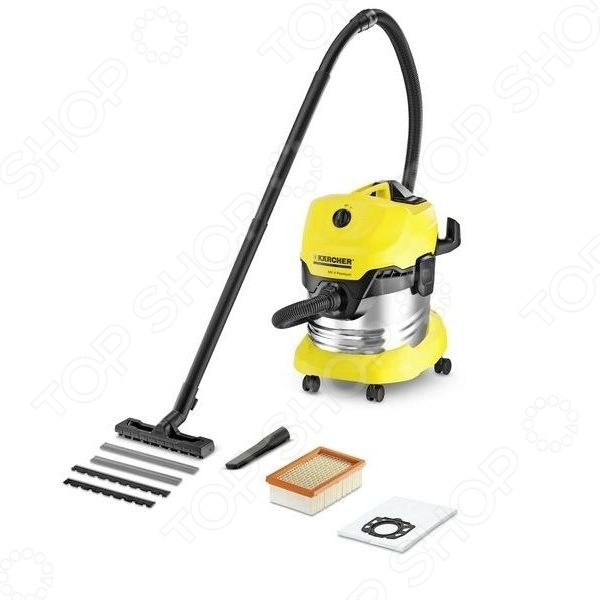 Пылесос с мешком Karcher MV 4 редуктор давления с фильтром karcher 2 645 226 0