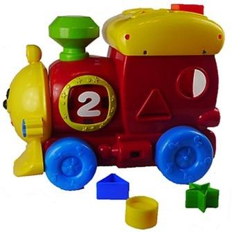Сортер Bebelino «Музыкальный паровоз» bebelino развивающая игрушка молоточек изучай звуки цвет белый салатовый
