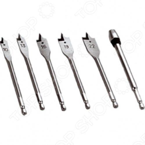 Набор перьевых сверл Herz HZ-B006SP набор инструментов herz 11 предметов hz 482