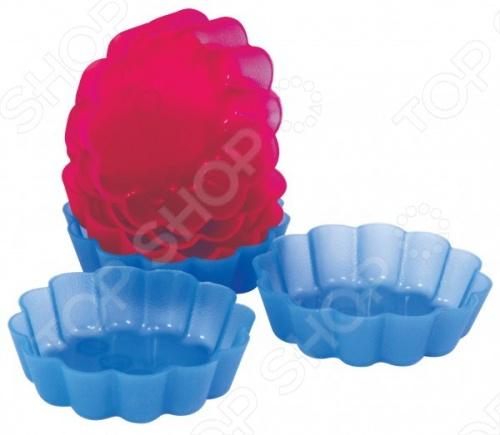 Набор форм для выпечки силиконовый Regent «Корзиночка»