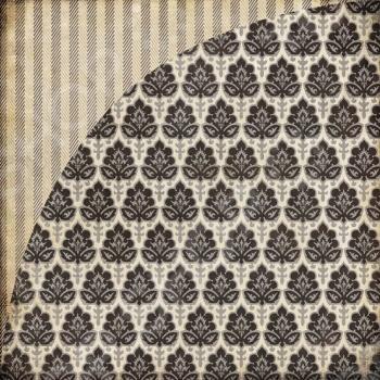 фото Бумага для скрапбукинга двусторонняя Basic Grey Dapper, купить, цена