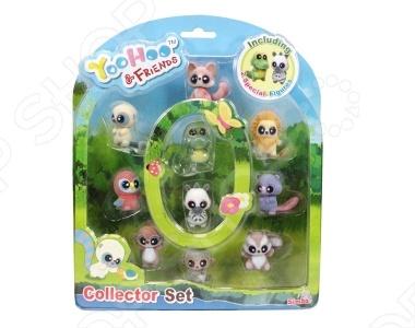 Набор фигурок Simba «YooHoo&amp;amp;Friends»Фигурки супергероев и других персонажей<br>Набор фигурок Simba YooHoo Friends это набор из 10 фигурок персонажей из одноименного мультфильма. YooHoo и его друзья покажут пример настоящей дружбы вашему ребенку. Размер каждой игрушки 5 сантиметров. Simba Dickie Group это немецкий концерн, который является одним из ведущих производителей детских игрушек в мире. Заводы по производству располагаются в нескольких странах мира: Германии, Италии, Чехии, Испании, Франции и Китае. Все игрушки идеально сочетают в себе три компонента функциональность, качество и доступную цену. Весь ассортимент продукции соответствует международным стандартам качества.<br>