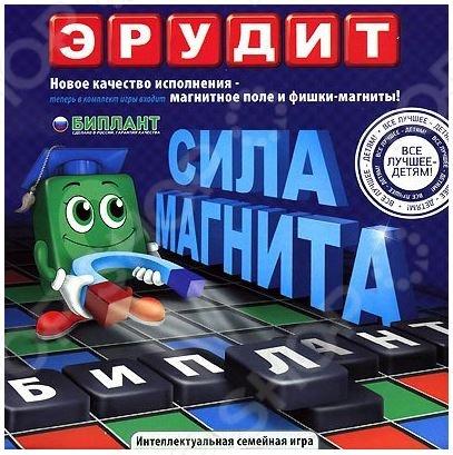 Игра настольная Биплант Эрудит Магнитный