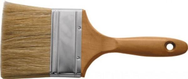 Кисть флейцевая FIT «Профи»Ролики. Кисти. Валики. Щетки<br>Кисть флейцевая FIT Профи с натуральной светлой щетиной и деревянной ручкой. Подойдет для работы со всеми типами лакокрасочных материалов. Простая и удобная кисть.<br>