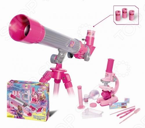 Игра обучающая Eastcolight «Телескоп и микроскоп» 2202 игра eastcolight mp 450 телескоп 2035 href