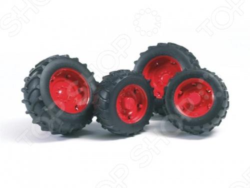 Шины для системы сдвоенных колес Bruder 02-013 Шины для системы сдвоенных колес Bruder 02-013 /
