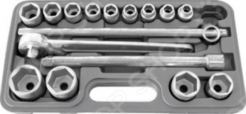 Набор автомобильный РОС НИЗ № 2Наборы инструментов<br>РОС НИЗ 2 - это компактный набор Всё для автомобиля в который входит:  Вороток-рычаг с присоединительным квадратом 1 2 х300 мм.  Удлинитель 1 2 х250 мм.  Вороток трещоточный 1 2 х250 мм.  Головки шестигранные 1 2 10-11-12-13-14-15-17-19-22-24-27-30-32 мм. Детали изготовлены из износоустойчивой конструкционной легированной стали. Инструменты хранятся в компактном пластиковом чемодане.<br>