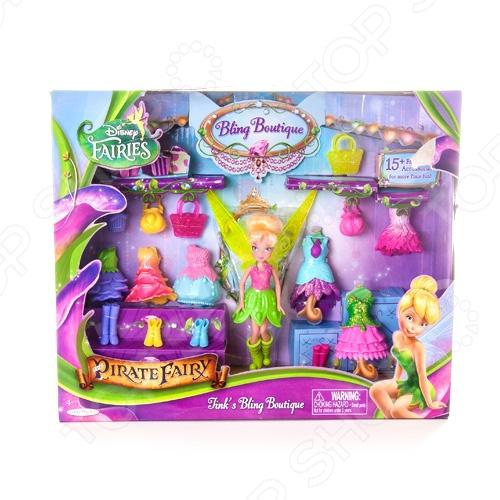 Набор кукол и аксессуаров Disney Fairies «Хрустальный бутик». В ассортименте