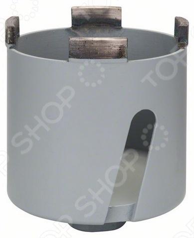 Зенкер алмазный для розеток BoschЗенкеры<br>Зенкер алмазный для розеток Bosch предназначен для дрелей мощностью от 1000 Вт. Применяется для работ с силикатным кирпичом, клинкером и кирпичной кладкой. Необходимо использовать сверление без удара.<br>