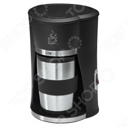 Кофеварка Clatronic KA3450Кофеварки<br>Кофеварка Clatronic KA3450 очень практична в использовании. В комплект к кофеварке входит специальная чашка, которая подходит практически для всех стандартных держателей напитков. Чашка выполнена в интересном дизайне и способна сохранять тепло долгое время.<br>