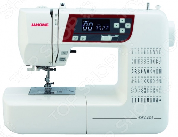 Швейная машина Janome 603 DC швейная машина vlk napoli 2400