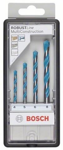 Набор сверл универсальных Bosch Robust Line CYL-9 MultiConstruction 2607010522 Bosch - артикул: 388777