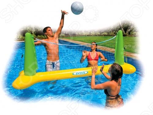 Набор волейбольный для бассейна Intex 56508 средство для чистки бассейна intex 10440