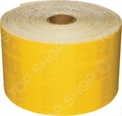 Бумага наждачная для дерева и металла на бумажной основе это гибкий абразивный материал, который состоит из бумажной основы с алюминиевым-оксидным абразивным слоем. Бумага поставляется в рулоне, что обеспечивает удобство при использовании. Данная наждачная бумага подойдет для работы по дереву и металлу. Вы сможете подобрать необходимую вам зернистость.