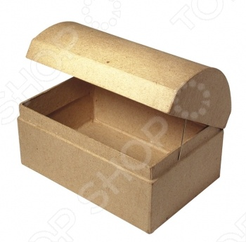Коробка из папье-маше Rayher 8152300 станет замечательной основой для уникальной творческой работы. Данная модель выполнена из папье-маше и позволяет воплотить в жизнь все творческие фантазии и мечты. Коробочка может послужить прекрасной составляющей для подарка или же может быть использована как шкатулка для украшений.