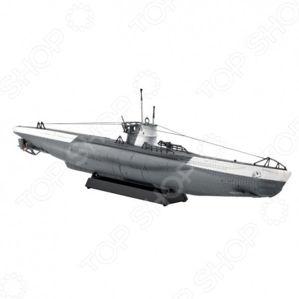 Сборная модель подводной лодки Revell U-Boot Type VIIC сборная модель подводной лодки revell u boot typ xxi