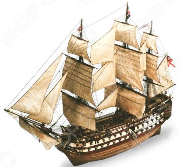 Сборная модель парусника Revell H.M.S. Victory gant