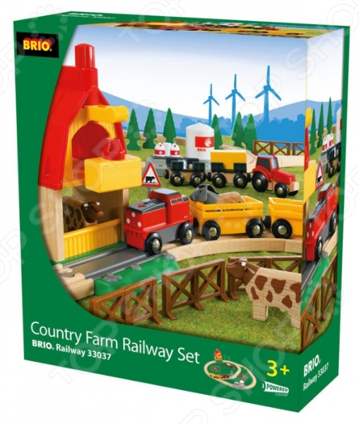 фото Железная дорога Brio «Загородная Ферма», Железные дороги