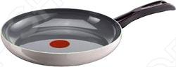 Сковорода TefalСковороды<br>Сковорода Tefal D4210472 это объемная сковорода с высококачественным керамическим покрытием прекрасно подходит для приготовления продуктов. Благодаря специальному покрытию, на ней можно приготовить разнообразные блюда из мяса, рыбы, птицы и овощей практически не используя масло. Готовое блюдо получится не только вкусным, но и полезным. Сковорода снабжена эргономичной бакелитовой ручкой, которая не нагревается в процессе приготовления пищи, выдерживает до температурной отметки в 200 градусов.<br>