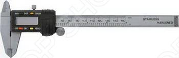Металлический нержавеющий штангенциркуль с электронным отсчетом FIT используется для проведения как наружных, так и внутренних измерений различных изделий или заготовок. Такой ручной измерительный инструмент очень надежен и качественен. Его жидкокристаллический дисплей верно и четко измеряет и выдает результаты. Работает штангенциркуль от батарейки типа SR44 1х1,55 .