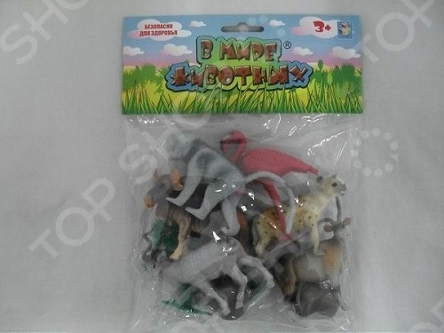 Фигурки-игрушки 1 Toy Т53855 Животные Африки фигурки игрушки prostotoys пупсень серия лунтик и его друзья