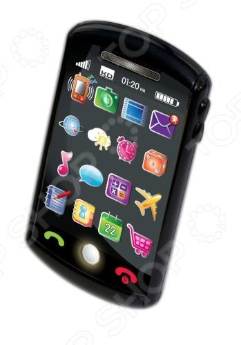 Мини-смартфон игрушечный 1toy Kidz Delight Т55432