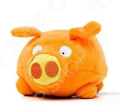 Мягкая игрушка интерактивная Woody O\'Time «Свинка» Игрушка плюшевая интерактивная Woody O\'Time «Свинка» /Оранжевый