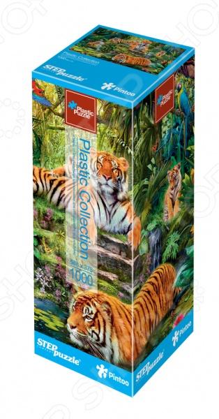 Настольная игра Тигры. Пазл 1000 элементов