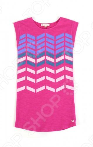 Платье детское Appaman T-Shirt Dress. Цвет: фуксия