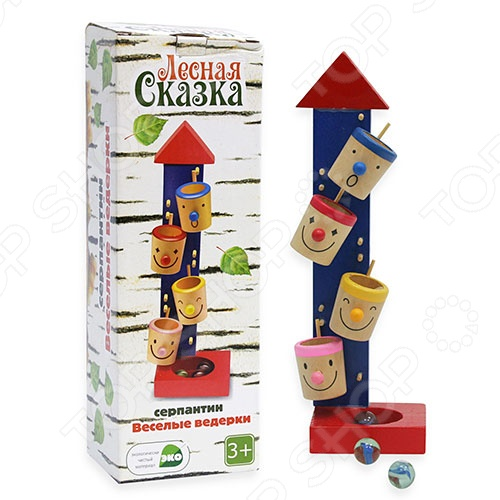 фото Игрушка-серпантин деревянная, Головоломки и лабиринты для малышей
