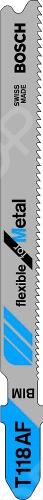 Подробнее о Bosch T118 AF Bi полотно пильное для лобзика по металлу
