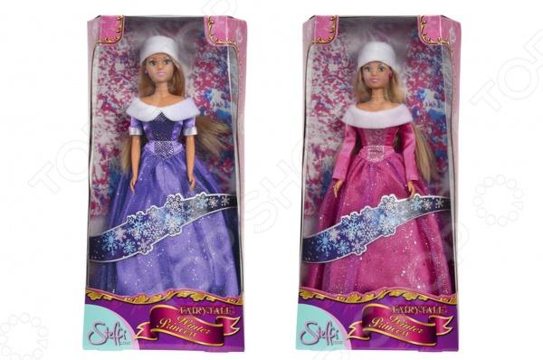 Кукла Simba Штеффи в блестящем зимнем наряде