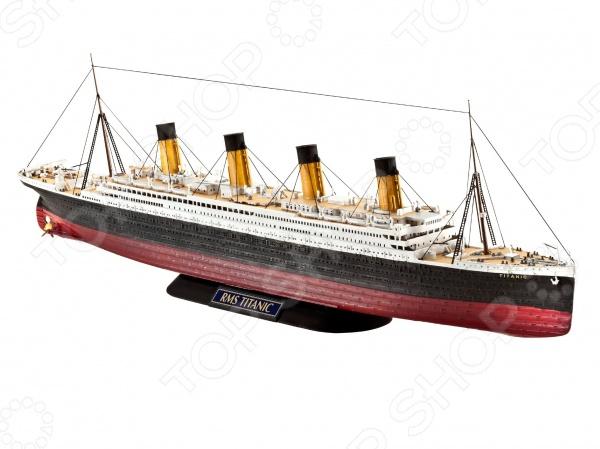 Сборная модель парохода Revell R.M.S. Titanic марк бойков 泰坦尼克之复活 возвращение титаника resurrection of titanic