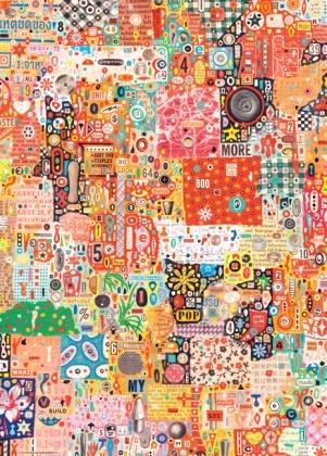 Пазл 1000 элементов Heye «My Pop»Пазлы (501–1000 элементов)<br>Пазл 1000 элементов Heye My Pop это не просто пазл, это ваша возможность самостоятельно создать произведение искусства. Вы сможете всей семьей решить головоломку из 1000 деталей, а в результате получите картину, которой сможете украсить стены своего дома или офиса. Детали пазла изготовлены из безопасного и качественного материала, так что вы сможете собирать картину вместе всей семьей. Дети смогут развивать, а взрослые совершенствовать внимательность и пространственное мышление. Пазл произведен компанией HEYE, которая вот уже более 50 лет производит мозаики с удивительными сюжетами: мультипликационными персонажами, иллюстрациями классических и современных художников, географическими картами, неповторимыми природными пейзажами, фантазийными и готическими мотивами и др.<br>