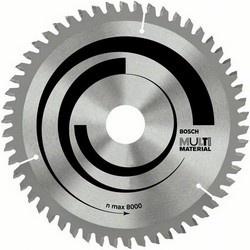 Диск отрезной для торцовочных и настольных дисковых пил Bosch Multi Material 2608640447 диск отрезной для торцовочных пил bosch optiline wood 2608640432