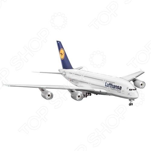 цены Сборная модель пассажирского самолета Revell Аэробус A380 Lufthansa
