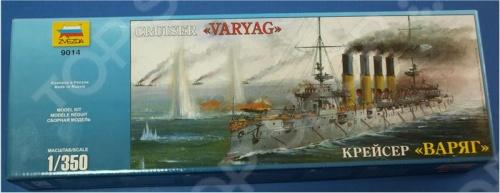 Сборная модель Звезда крейсер «Варяг»