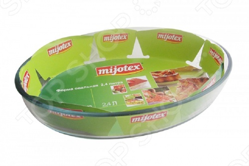 Форма для запекания овальная Mijotex PL форма для выпекания металл tvs dolci idee 22см 82078221030201