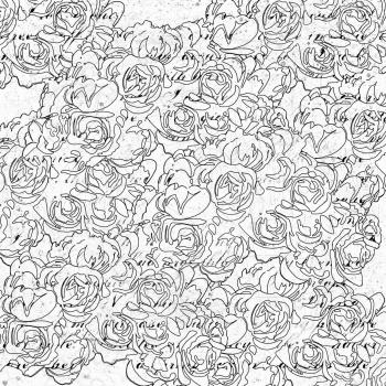 фото Бумага для раскрашивания Prima Marketing Roses, купить, цена