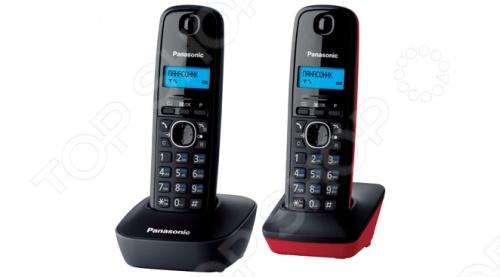 Радиотелефон Panasonic KX-TG1612 с дополнительный трубкой выполнен в стильном дизайне и отлично впишется в интерьер вашей квартиры или офиса. Обладает монохромным дисплеем, функцией будильника, определителем номера и блокировкой клавиатуры от случайного нажатия.