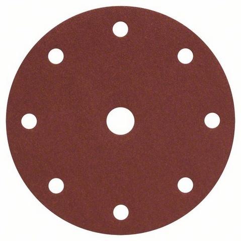 Набор листов для эксцентриковой шлифмашины Bosch Best for Wood, 9 отверстий, 50 шт.  набор лент для ленточных шлифмашин bosch best for wood 100x620 мм 3 шт