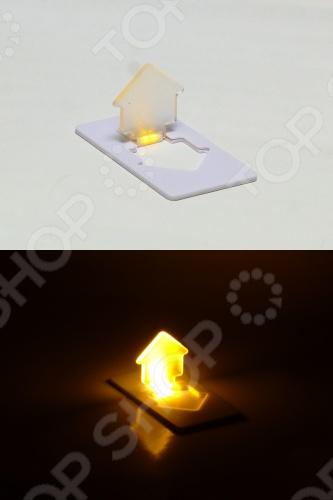 Свеча светодиодная карманная Drivemotion «Домик». В ассортименте