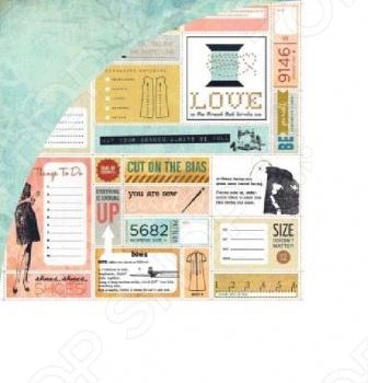 фото Бумага для скрапбукинга двусторонняя Basic Grey Shift, купить, цена