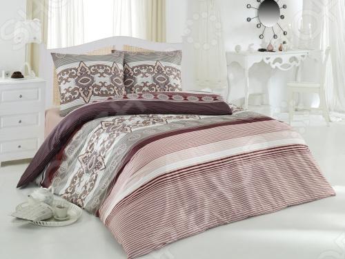 Комплект постельного белья Tete-a-Tete Щербет евро необычайно стильный и красивый - станет украшением любой спальни и подарит крепкий и здоровый сон. Ваша постель будет выглядеть безупречно. Лёгкость и шелковистость ткани после стирки ещё больше усилится, поэтому спать на этом белье со временем станет ещё приятнее. Наволочки с клапанами не имеют пуговиц и молний, которые могут поранить кожу во сне. Все изделия комплекта - цельнокроеные, и не имеют грубых швов. Комплект изготовлен из 100 хлопка, плотность 140 г м2. Стирать изделия следует при температуре не выше 30С с использованием щадящих отбеливающих средств, высокотехнологичных моющих средств и ополаскивателей. При стирке изделия не линяют и обладают минимальной усадкой. Комплект упакован в подарочную коробку.