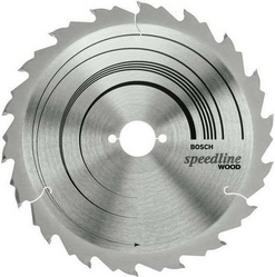 Диск отрезной для ручных циркулярных пил Bosch Speedline Wood 2608640774 диск отрезной для торцовочных пил bosch optiline wood 2608640432