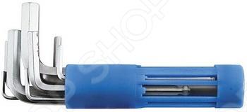 Набор ключей hex коротких FIT 64192Шестигранные (имбусовые) ключи. Звездочки<br>.Набор шестигранных ключей 8 шт Нех FIT поставляется в удобном для хранения пластиковом держателе. Каждый ключ оснащен шаровым наконечником, для удобства работы. Все предметы из набора изготовлены из термообработанной хром-ванадиевой стали, что определяет высокую прочность и долговечность.<br>