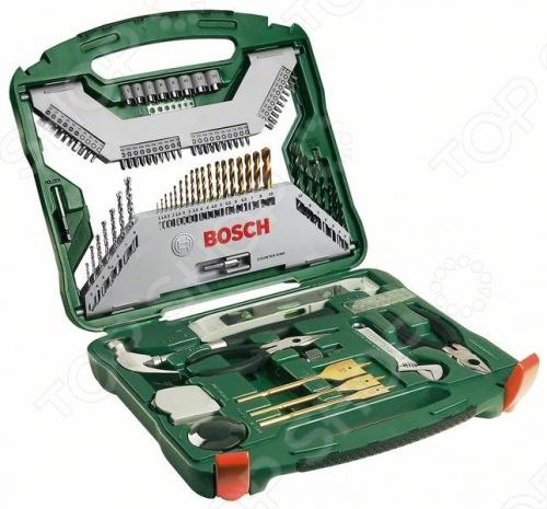 Набор сверл и бит Bosch 2607019331 набор инструмента bosch x line 103 2607019331