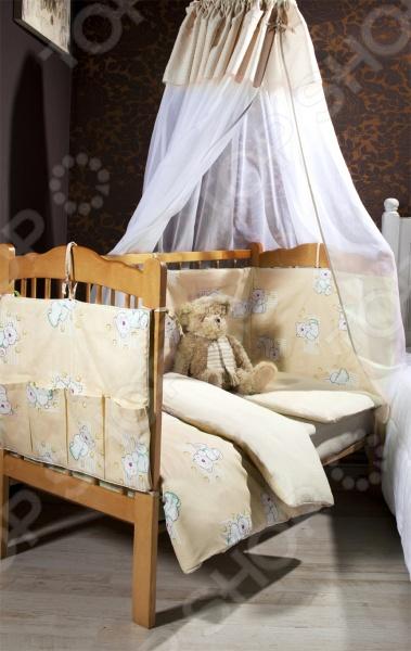 фото Комплект в кроватку Primavelle «Dreammy», Постельные принадлежности для новорожденных