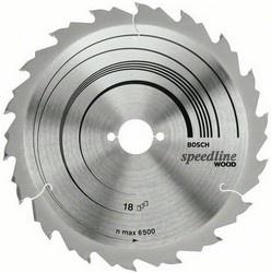 Диск отрезной для ручных циркулярных пил Bosch Speedline Wood 2608640801 диск отрезной для торцовочных пил bosch optiline wood 2608640432
