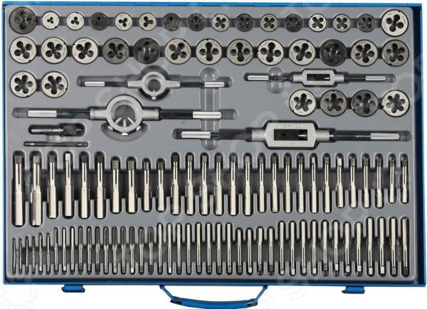 Набор плашек и метчиков Зубр «Эксперт», 110 шт. эксперт вэ 96н экспресс идентификатор металлов